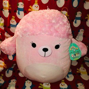 Squishmallow CHLOE the PINK POODLE 16 INCH PLUSH